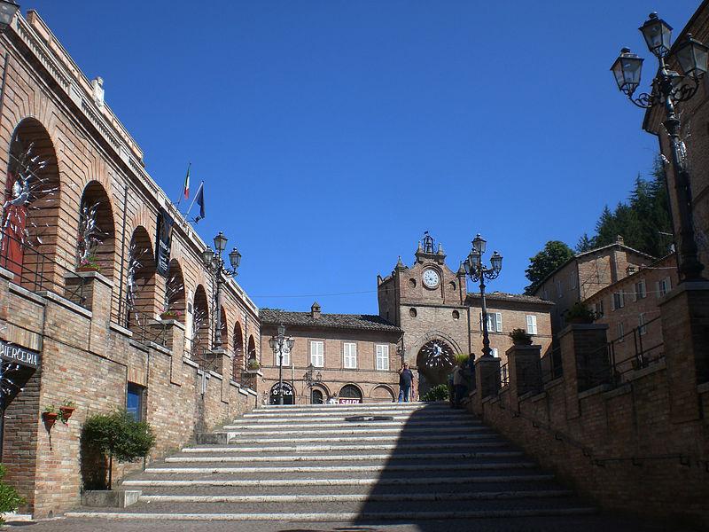 Piazza Risorgimento di Amandola