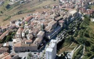 Veduta dall'alto di Montegranaro