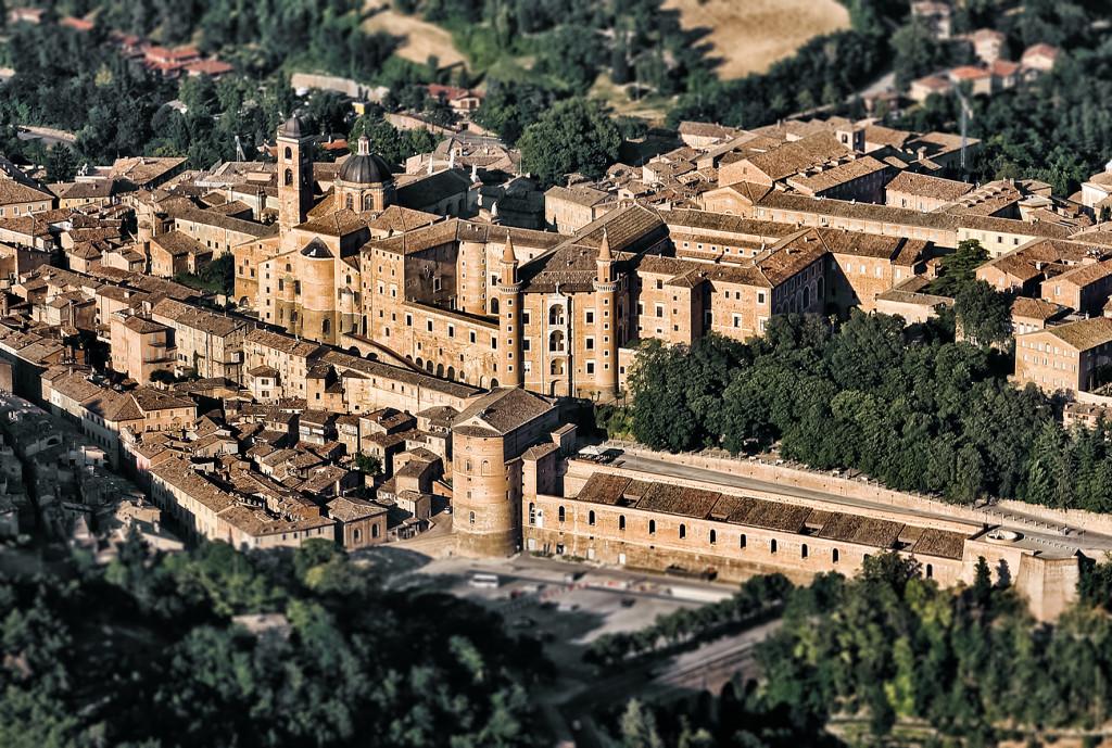 Panoramica di Urbino
