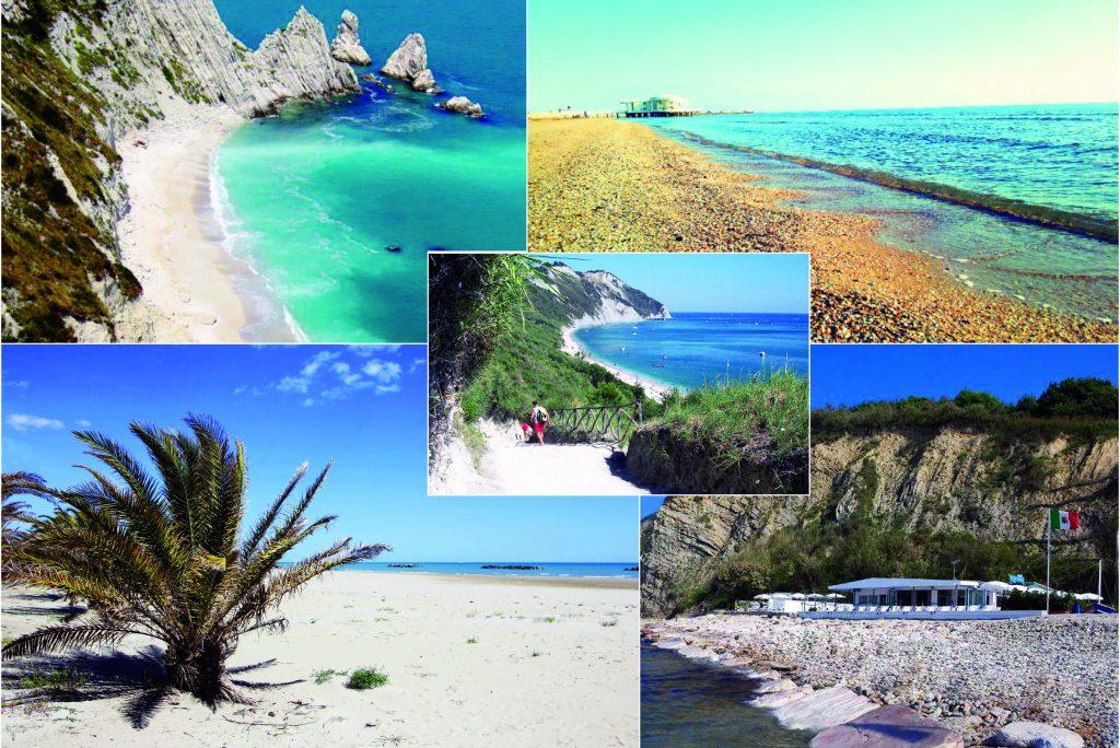 Le cinque spiagge da sogno delle Marche