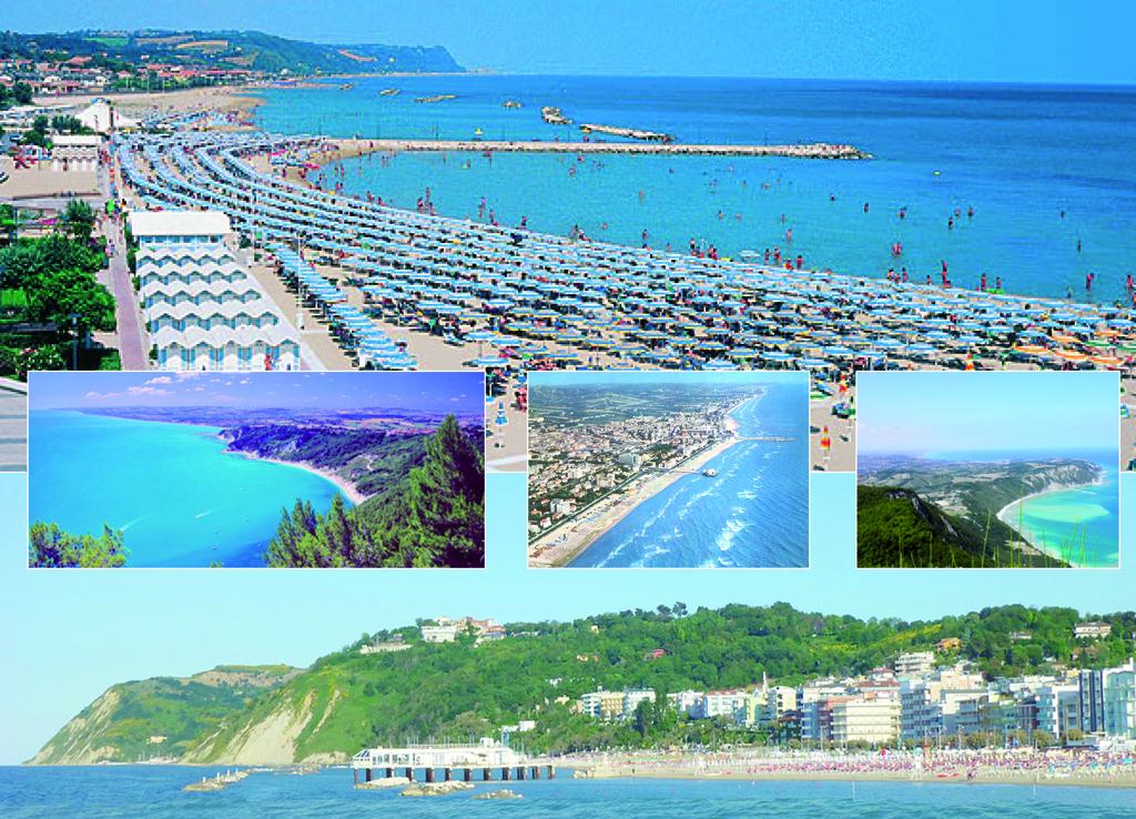 Nelle Marche seguendo l'itinerario della costa adriatica
