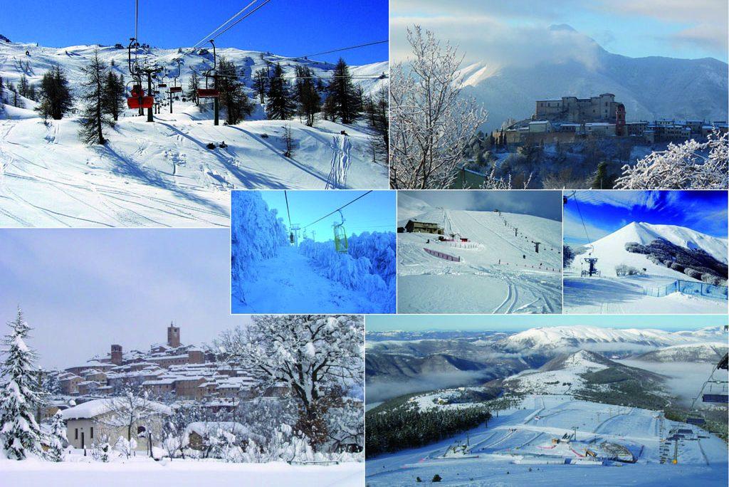 Vacanze sulla neve Marche. Località consigliate per un week end sulla neve nelle Marche alla riapertura degli impianti sciistici.