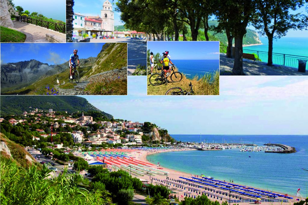 Gli itinerari in mountain bike nelle Marche