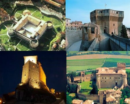 Le marche fortificate: castelli, rocche e fortezze dal pesarese al Monte Catria