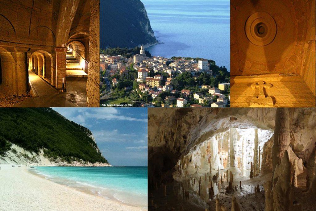 Le Marche sotterranee:  Frasassi, Osimo, Camerano e Sirolo