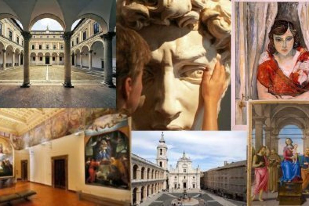 Art in the Marche: painting, sculpture, architecture and nature throughout the region.