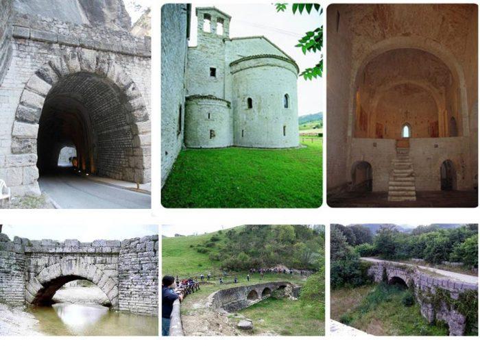 Le Marche e l'antica via Flaminia: un itinerario