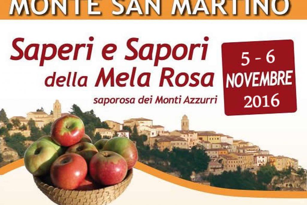 Monte San Martino Saperi E Sapori Della Mela Rosa 2016