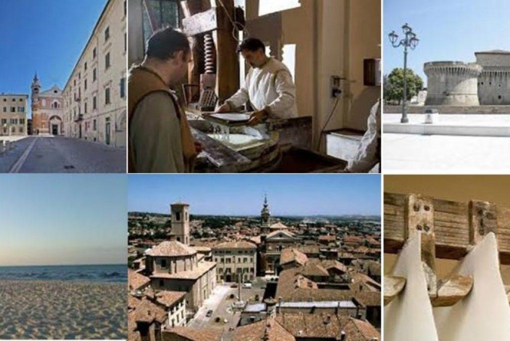 Dall'entroterra al mare: itinerario a nord di Ancona.