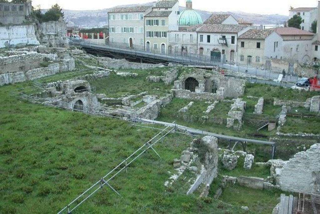 The Roman amphitheatre in Ancona