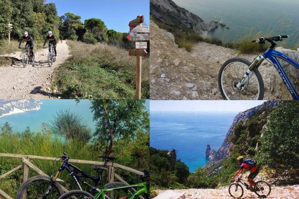 Il Conero in mountain bike percorsi facili