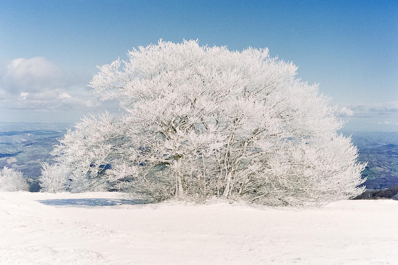 Le stupende foto del Gran Anello dei Sibillini d'inverno