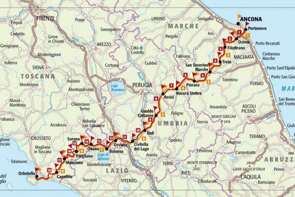 Italia Coast 2 Coast di Simone Frignani, un Tour che parte dalle Marche