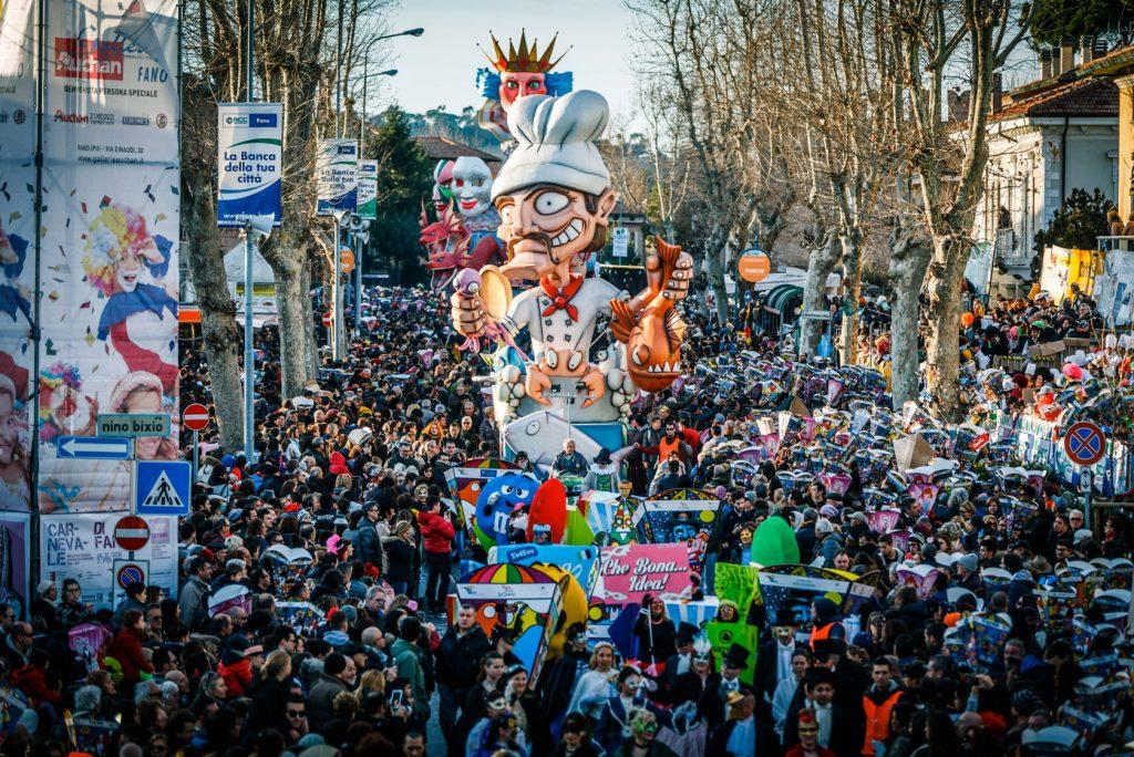 Dove andare a Carnevale nelle Marche