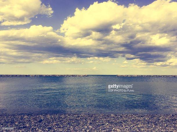 Le più belle foto del mare d'inverno a Fano