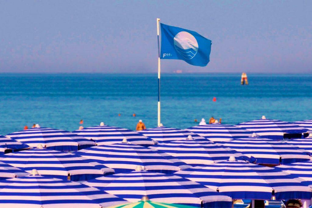 Le foto delle spiagge marchigiane Bandiera Blu 2019