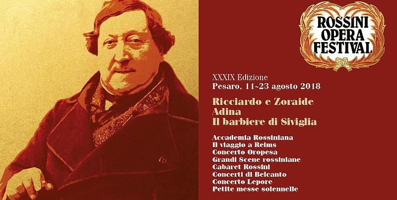 Il programma completo (e i brani da conoscere) in vista del Rossini Opera Festival