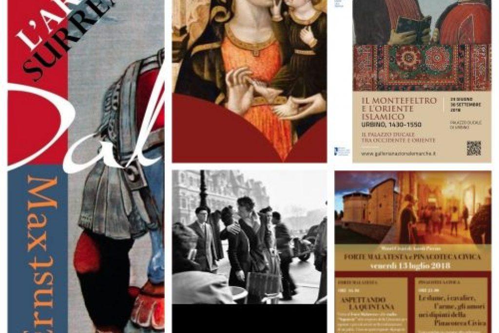 5 mostre d'arte che non potete prendervi quest'estate nelle Marche