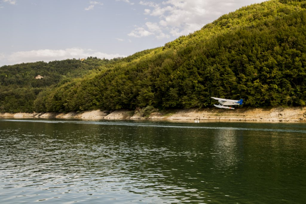 [Foto] L'inaugurazione dell'idrosuperficie al Lago di Gerosa