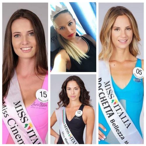 Miss Italia 2018: le quattro finaliste marchigiane