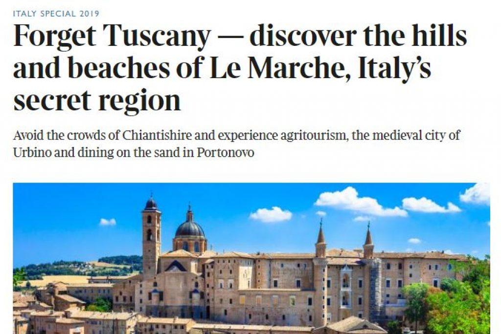 The Times consiglia le Marche