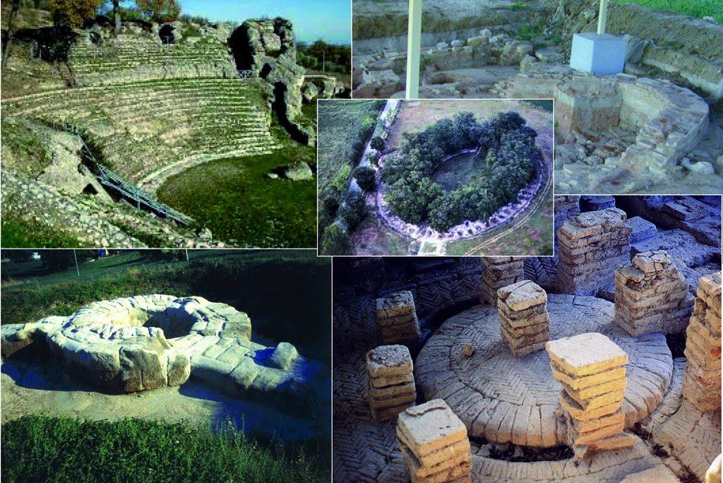 7 Archäologische Parks in den Marken