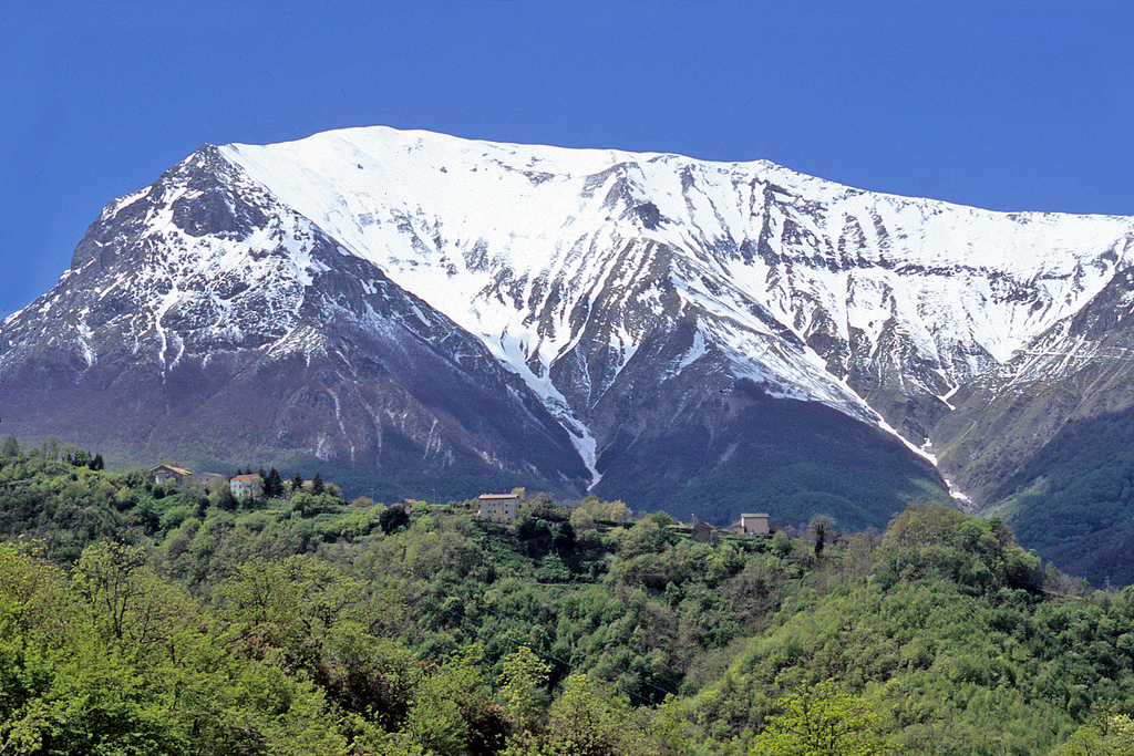 How high is Monte Vettore?