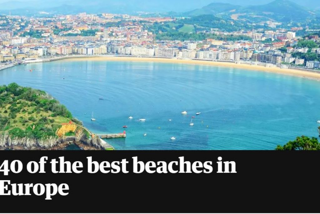 40 of the best beaches in Europe according to The Guardian