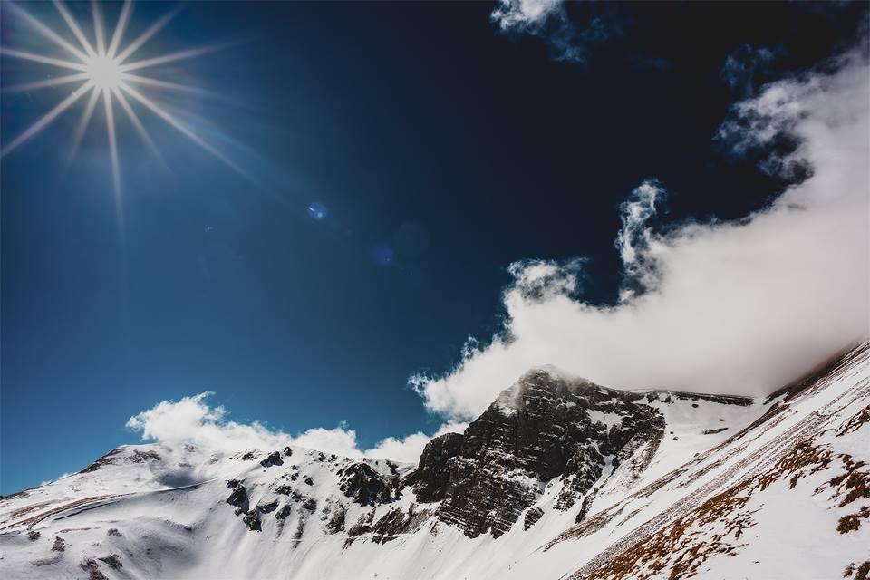 La più bella foto dell'inverno 2019 nelle Marche
