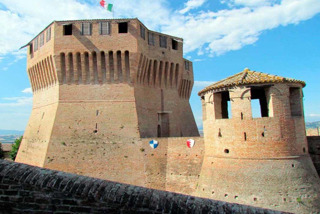 Die Rocca Roveresca in Mondavio
