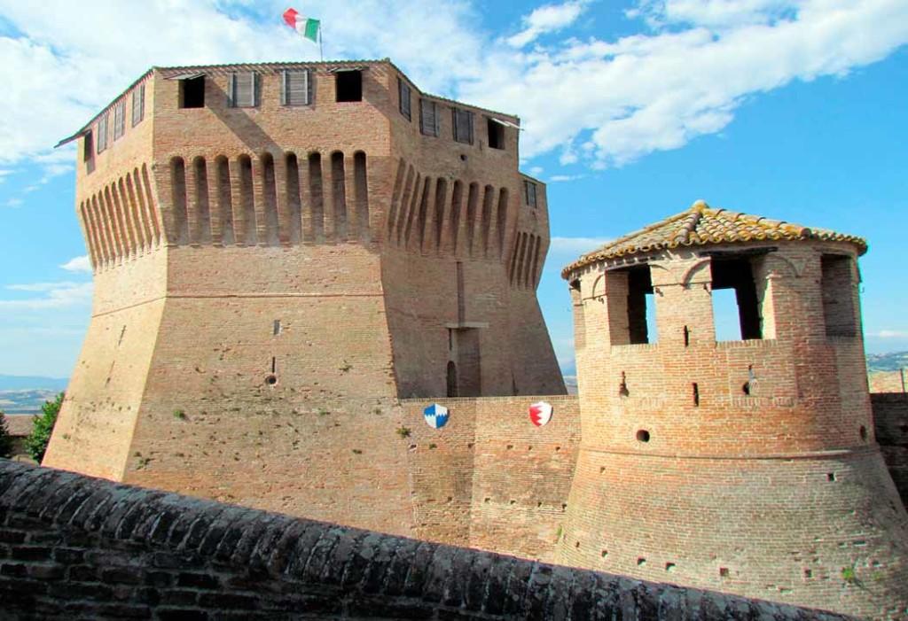 The Rocca Roveresca of Mondavio