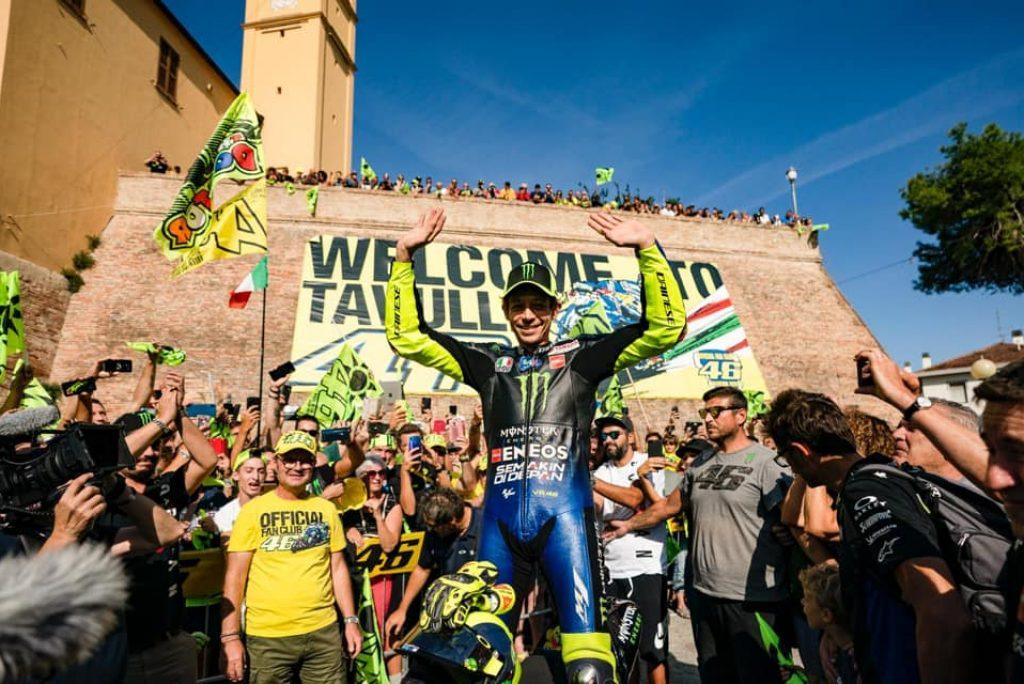 Il video di Valentino Rossi che da Tavullia va a Misano con la sua moto