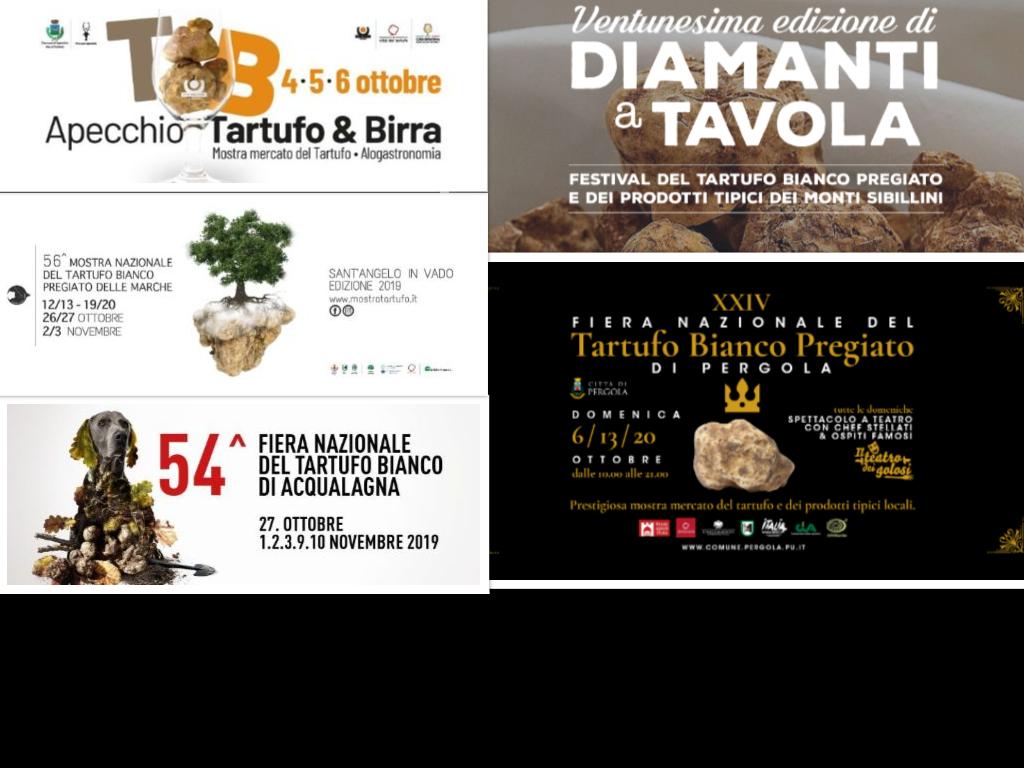 5 luoghi dove assaggiare il tartufo nelle Marche