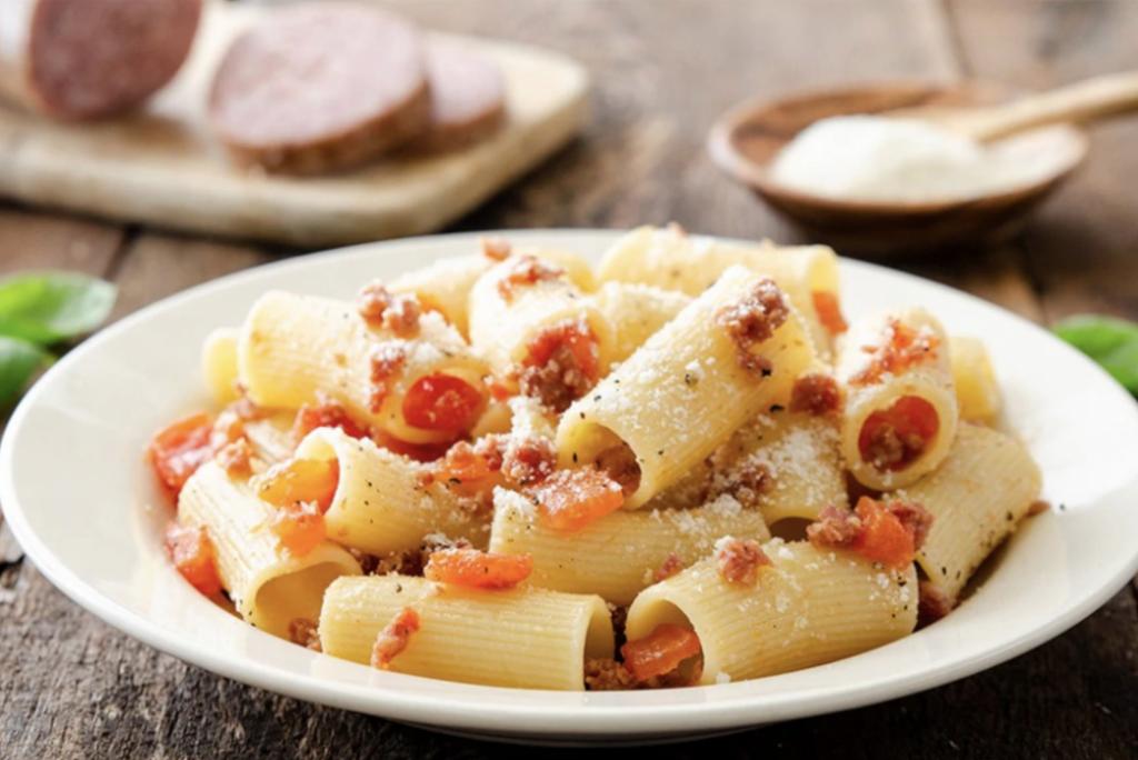 Avete mai assaggiato la pasta con il ciauscolo?