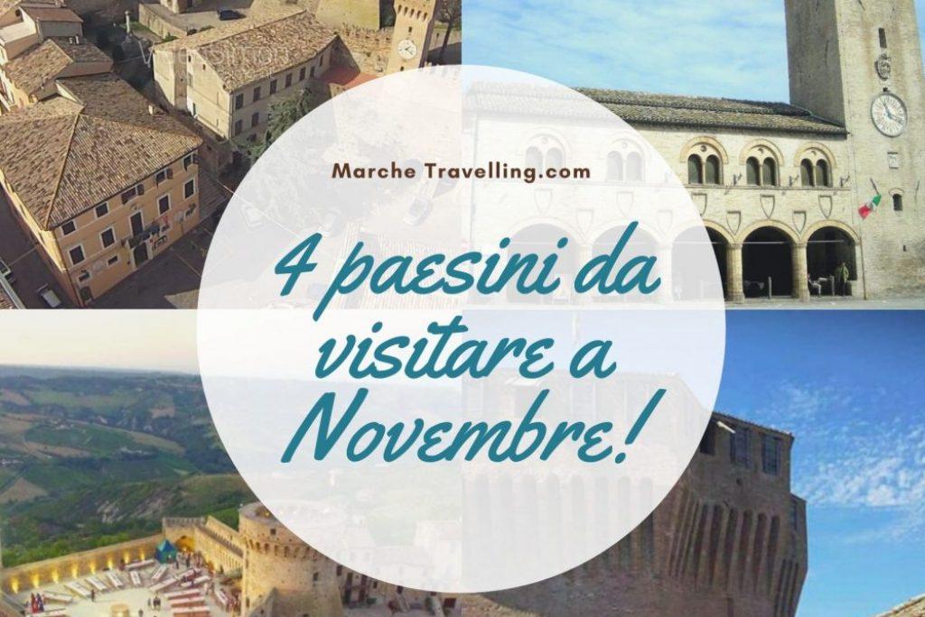 4 paesini da visitare a Novembre