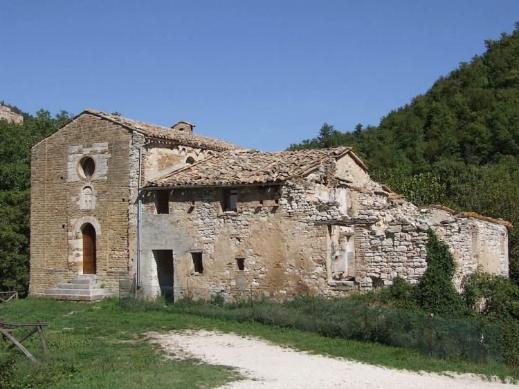 Chiesa di Sant'Ansovino di Avancelli abitata dai Templari