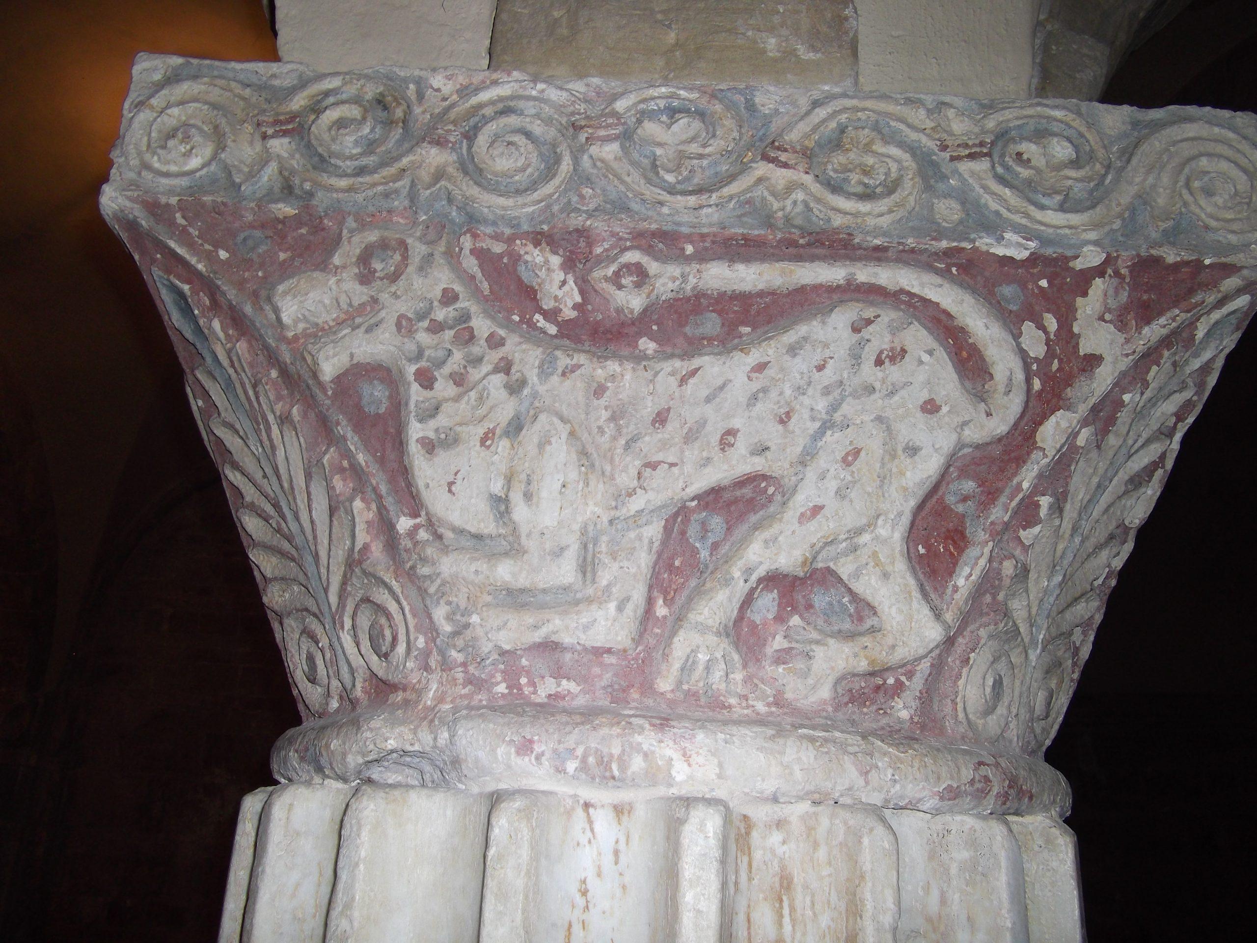 Figura 11 - Abbazia di Rambona (MC) cripta