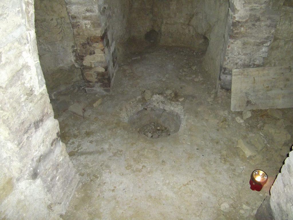 Abbazia di Rambona (Macerata) ipogeo di Iside
