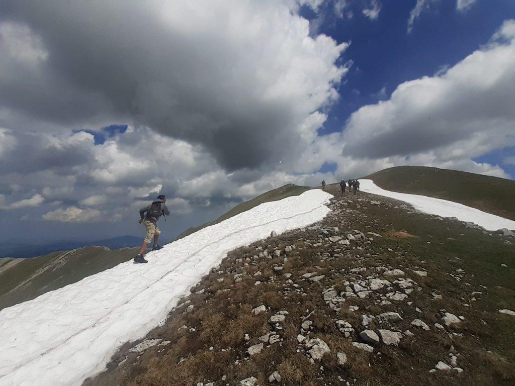 salita dei Monti Sibillini