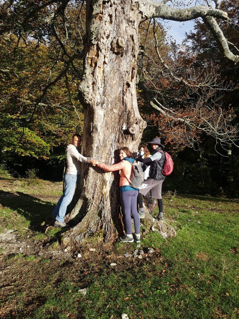 spettacolare escursione nella Riserva Naturale del Monte San Vicino 3
