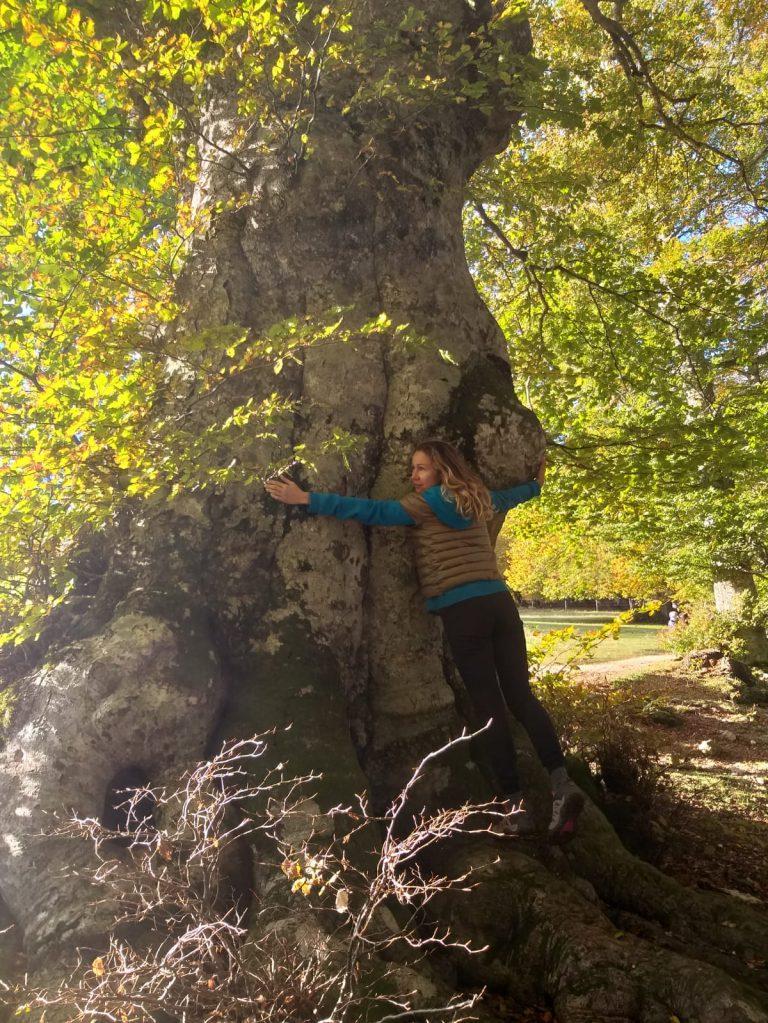 spettacolare escursione nella Riserva Naturale del Monte San Vicino