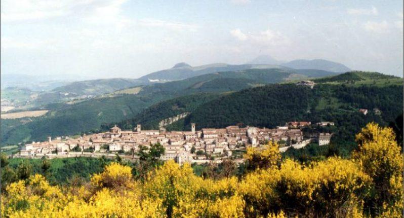 Panoramica di Arcevia