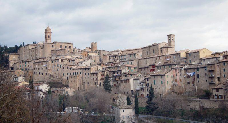 Panoramica di Serra San Quirico