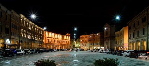 Piazza del Popolo, San Serverino Marche (MC)
